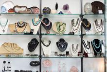 Window Of Jewelry Store