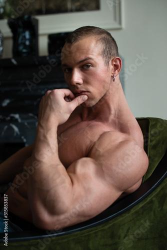 Obraz Fitness model - fototapety do salonu