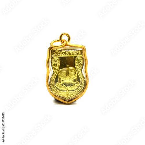 Photo Religious pendant - small thai buddha image used as amulets pendant,thai amulet