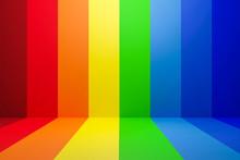 Abstract Rainbow Gradient Mult...