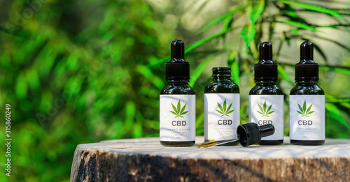 Photo CBD cannabis OIL