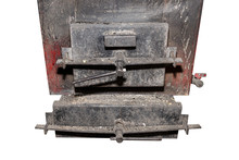 Old Metal Coal And Wood Stove ...