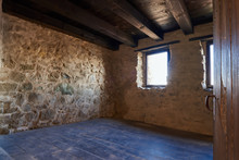 Room Of A Medieval Fortress