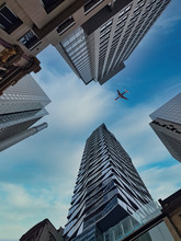 Low Angle Shot Of Modern Architecture From Australia,Sydney