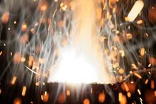 Macro Photo Of Bursting Gunpow...