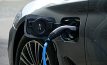 Electric Or Hybrid Car Refueli...
