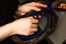 A Woman's Hands Weave A Dreamc...