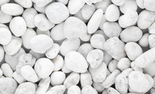 White Pebble Stone Background