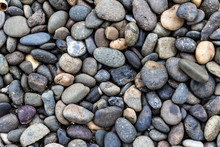 Grey Pebble Stone Background