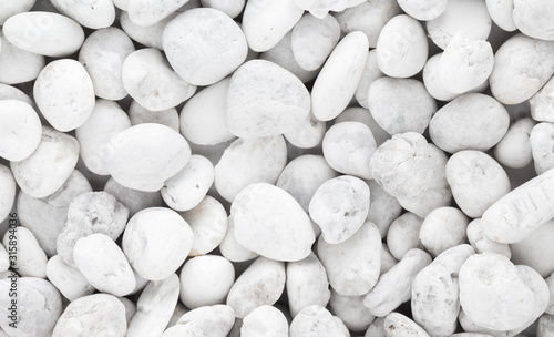 white pebble stone background Wallpaper Mural