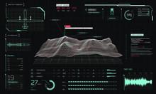 Control Center 3D Terrain Dron...