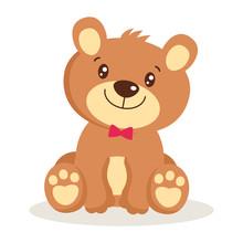 Toy For Girls. Cute Cartoon Te...