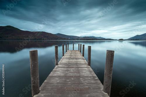 Fotografía pier on the lake
