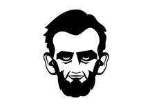 Abraham Lincoln Head Vector. P...