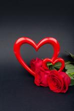 Valentine's Day Background. ...