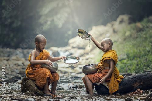 Photo Novice Monk in Thailand