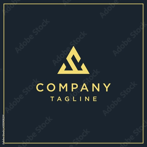 Photo sc, ac or vc triangle logo