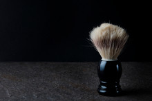 Shaving Brush On The Stone Sur...