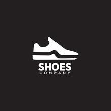 Man Shoes Logo Design Vector T...