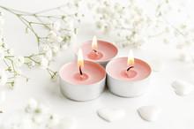 Burning Perfumed Candles Decor...