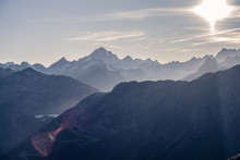 Ausblick Schweizer Alpen