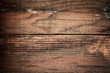 brown wood barn wall plank texture background, top view of old wooden table