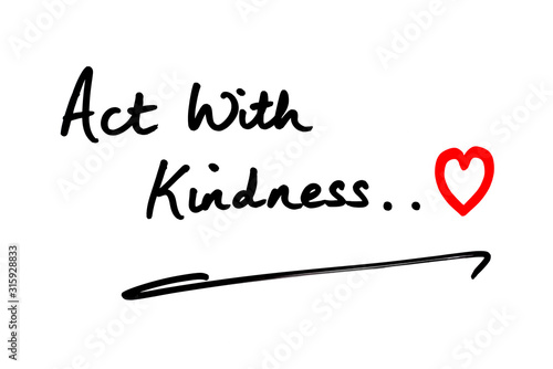 Photo Act with Kindness