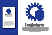Blue UV Protection Icon Isolat...