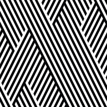 Seamless Pattern With Oblique ...
