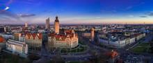 Leipzig Panorama, Leipzig Rath...