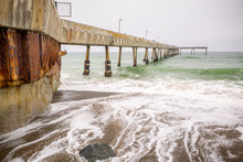 A Pier Out In The Ocean