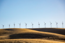 Wind Turbines In The Hills Of ...