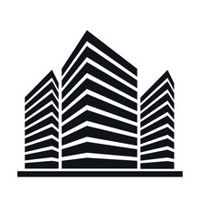 Buildings Vector Icon. Skyscra...
