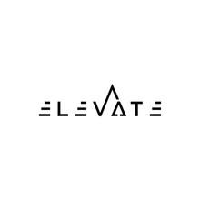 TYPOGRAPHY Text Logo ELEVATE M...