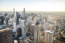 The Chicago Skyline Viewed Fro...