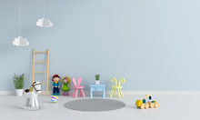 Table And Chair In Child Room ...