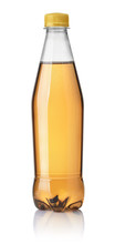 Front View Of Fruit Soda Bottle