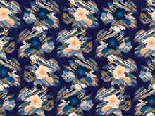 Distorted Graphic Glitch Daisy...