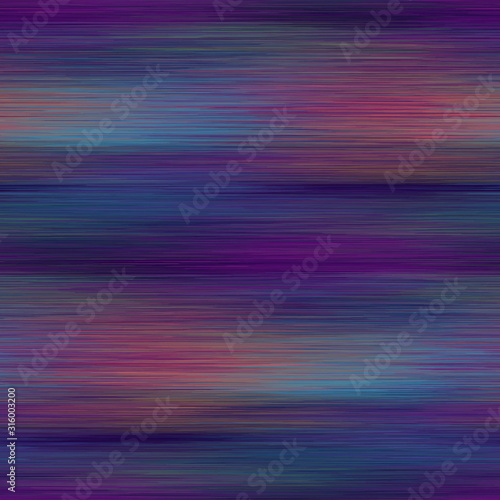 Fotografie, Obraz  Vivid degrade blur ombre radiant surreal blurry saturated digital neon pop seamless repeat vector pattern swatch