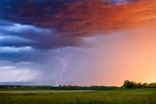 Thunderstorm Lightning Strike ...