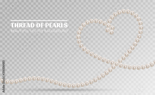 Canvas Print Shiny oyster pearls for luxury accessories
