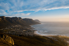 View Of Cape Town From Lion Head