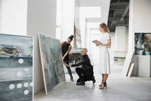 Artist And Art Dealers Discuss...