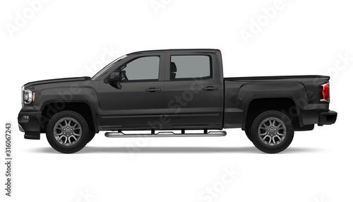 Fototapeta Pickup Truck Isolated obraz
