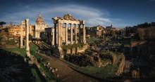 Ancient Ruins Of Roman Forum I...