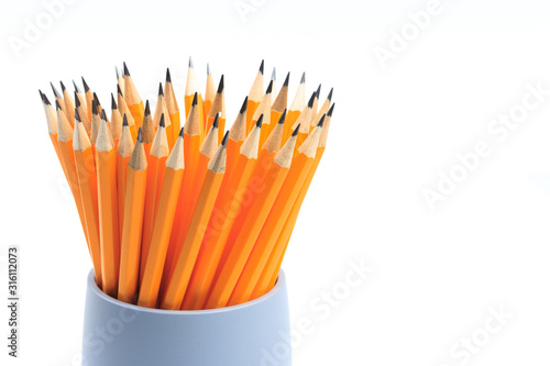 Photo Circle of Pencils - Pencil Holder - Image