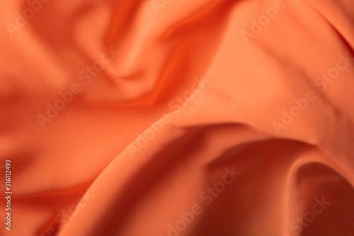 Fotografie, Obraz Thin chiffon fabric as an abstract background
