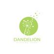 Dandelion vector icon design
