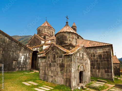 Medieval Armenian monastery Haghpat, 10 century. Armenia Wallpaper Mural