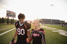 Teenage High School Cheerleade...